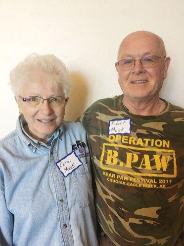 Carol and Robert Munk