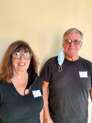 Ellen and Rich Millet have lived in Ohio, New York City, and California. They literally had to evacuate and drive through flames to get to Arizona. They are settling into 46B.