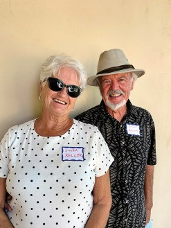Linda and Bruce Keller are now home in Unit 15B. They hold private pilot licenses and moved from Palm Springs.