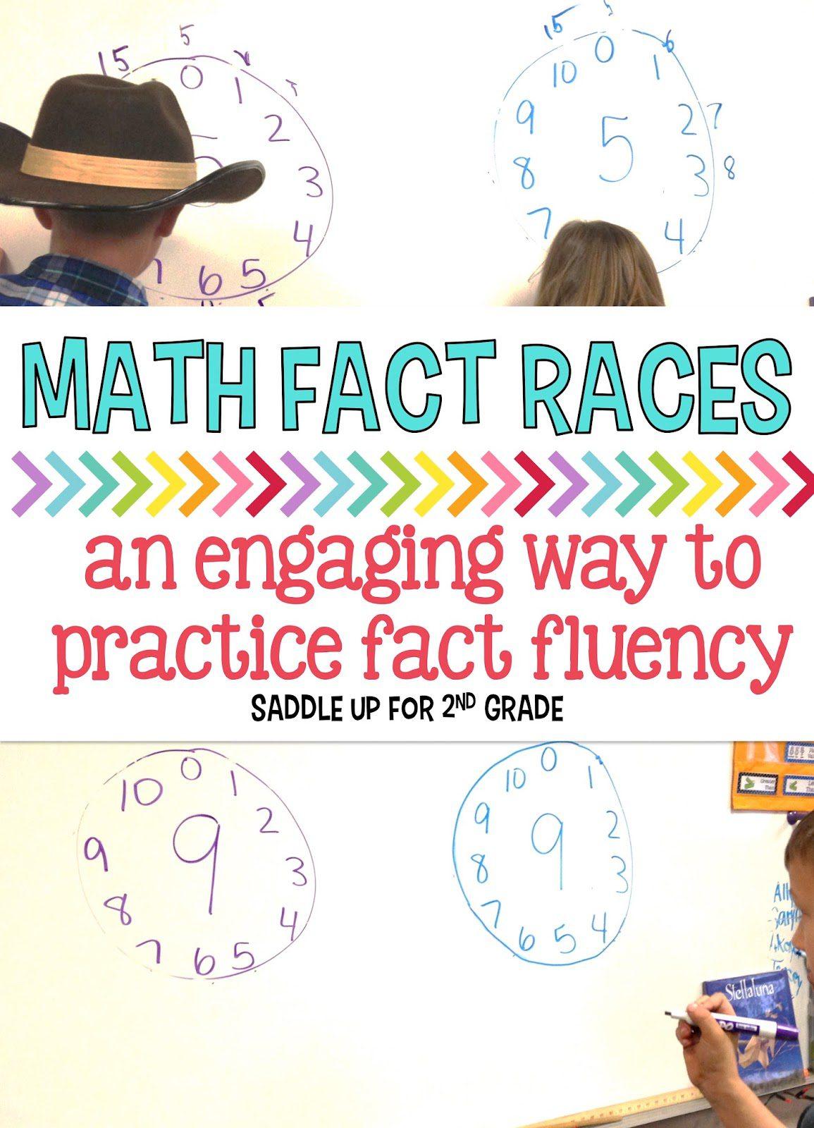 Math Fact Fluency Races