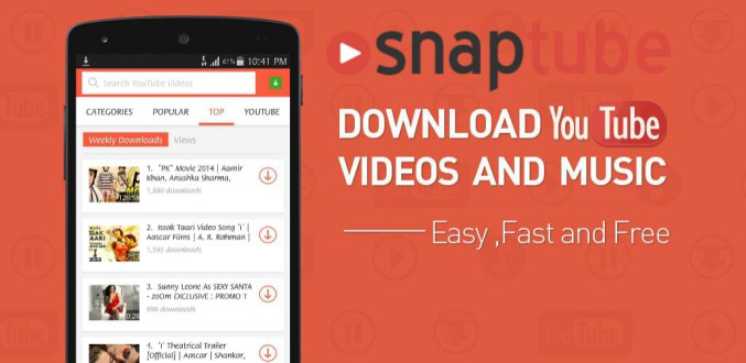 SnapTube - YouTube Downloader HD Video APK