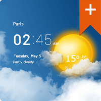 Transparent Clock & Weather Pro Full APK