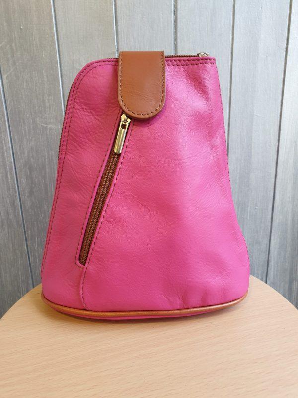 Algisa Italian Leather Backpack