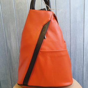 Stefania Italian Leather Backpack