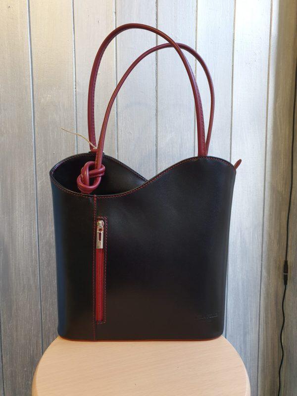 Chiara Italian Leather Handbag & Backpack