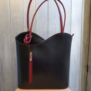 Chiara Italian Leather Handbag & Backpack