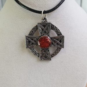 Pewter Celtic Cross
