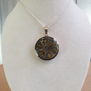 Steampunk Pendant Sterling Silver