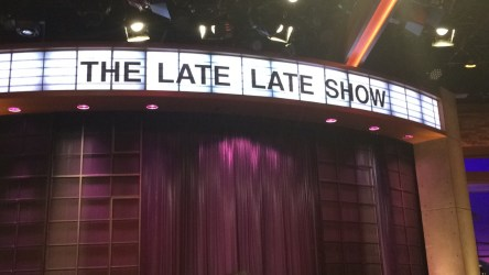 James Corden The Late Late Show at CBS Studios