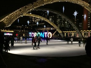Ice rink in Toronto