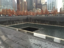 In memory of the World Trade Center