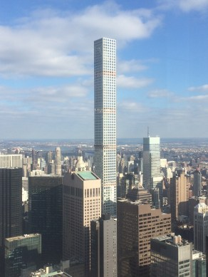 432 Park Avenue Accommodation- one of the tallest buildings in NYC