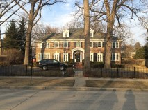 The one and only house for the famous film Home Alone.