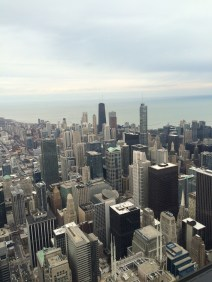 View from the top of WIllis Tower in Chicago