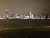 View from the Planetarium of Chicago City Skyline- so beautiful