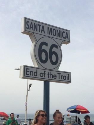 My own photo taken on Santa Monica Pier, Los Angeles
