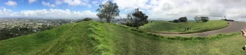 Top of Mount Eden