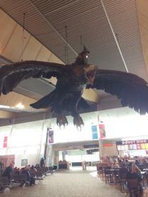 Gandalf in Wellington Airport