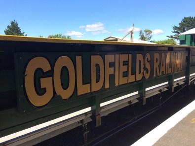 Goldfields Railway Train Journey