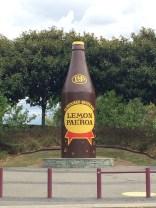 L&P Bottle in Paeroa