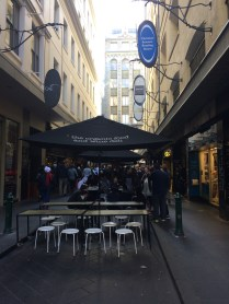 One of the busiest streets in Melbourne, packed with cafes and bars