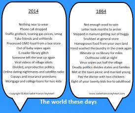 150 years apart