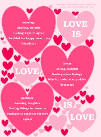 LoveIsLoveIsLove