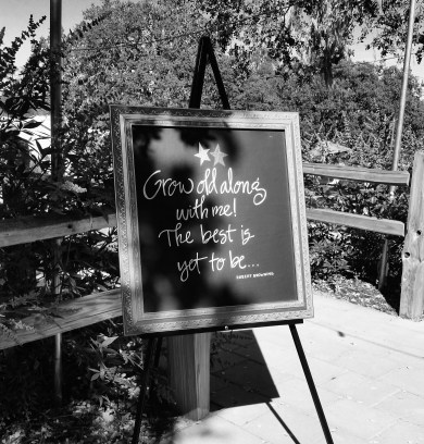 Wedding Day, Signage Lettering by Mom