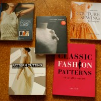 A Bunch of Sewing Books