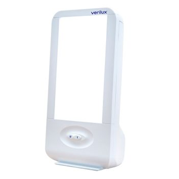 Verilux HappyLight Liberty 7,500 LUX Light Therapy Energy Lamp
