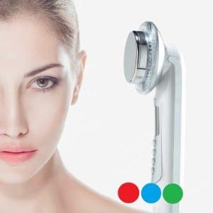 Rika LED facial massager product image