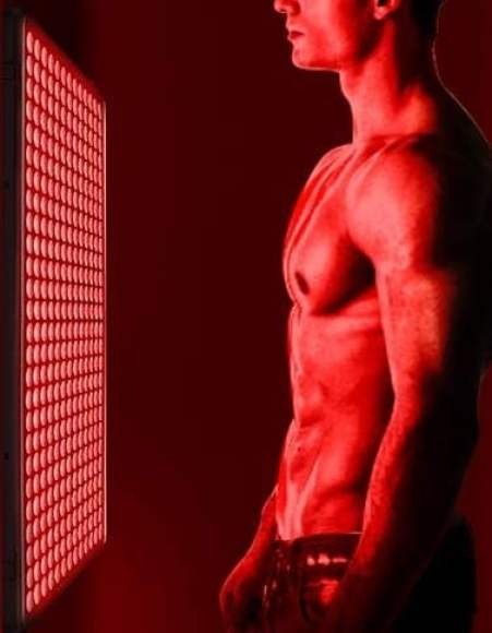 Deep Red Body Red Light Therapy Device