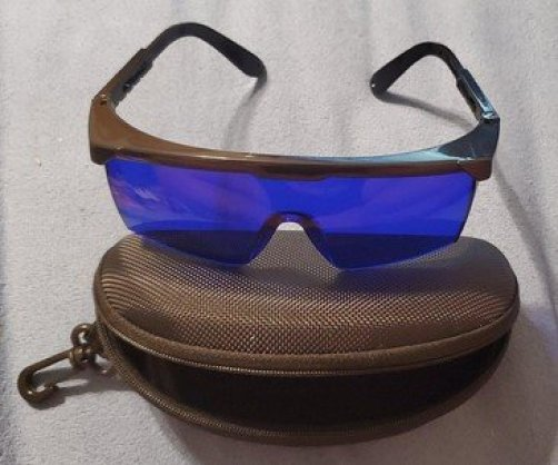 HDE Laser Eye Protection Safety Goggles