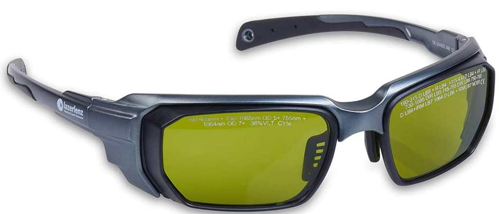 Lazerlenz Laser Goggles