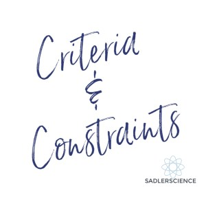 Criteria and Constraints
