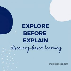 Explore-Before-Explain: Discovery-based learning