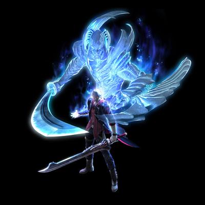 Nero and the blue spirit
