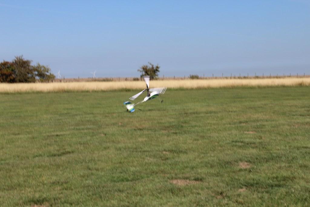 Bit of a dodgy landing though