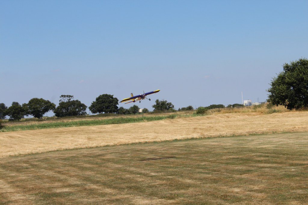 Dave on final approach