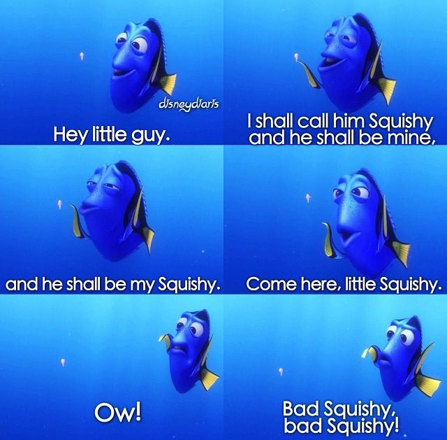finding nemo dory squishy quote for pinterest