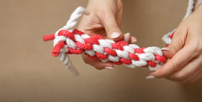 Glödande rep
