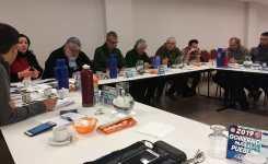 Tercera reunión de la Intersindical de Comunicación