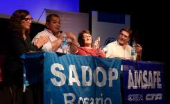 """SADOP Rosario, presente en los 20 años del periódico """"El Eslabón"""""""
