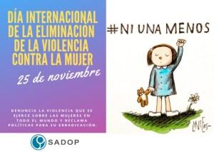 Lee más sobre el artículo Día Internacional de la eliminación de la violencia contra la mujer