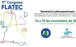 11° Congreso de FLATEC