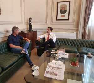 Lee más sobre el artículo El Ministro de Educación se reunió con el Secretario General de SADOP