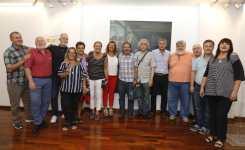 Evita: madrina de SADOP y cuadro en Sede Nacional