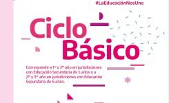Educación secundaria: Ciclo Básico