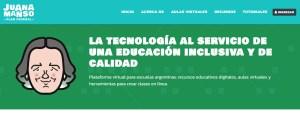 Lee más sobre el artículo Nueva Plataforma Federal Juana Manso con aulas virtuales, gratuitas y seguras para estudiantes y docentes