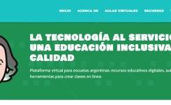 Nueva Plataforma Federal Juana Manso con aulas virtuales, gratuitas y seguras para estudiantes y docentes